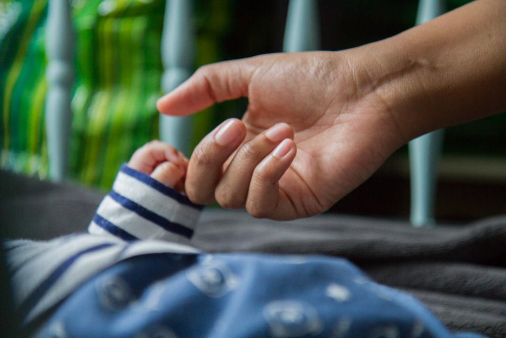 seance photo bébé normandie shooting enfant couleur