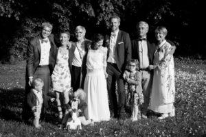 LEs famille des mariés à Coutances, mai 2017