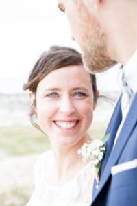mariage bohème le sourire de Barbara la sublime mariée