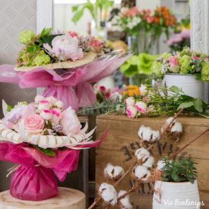 les jolis compositions florales de sandrine fleuriste au havre normandie