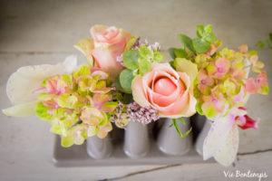 une composition florale sur mesure fleuriste au havre en Normandie