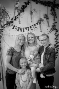 mathilde et jude pendant le shooting fête des mamans fecamp 2017 photo noir et blanc magasin sibellule