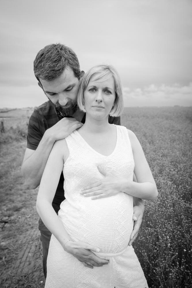 le regard de clara séance grossesse en normandie