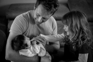 photographe bébé famille Paris fratrie