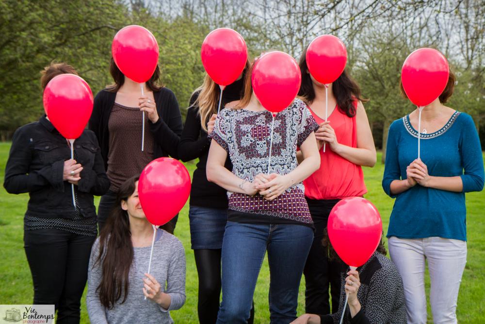 photographe normandie evjf ballon