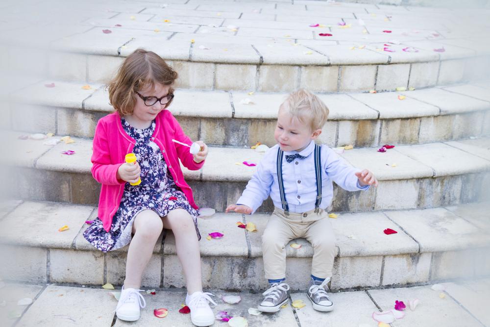 photographe mariage bohème normandie enfants