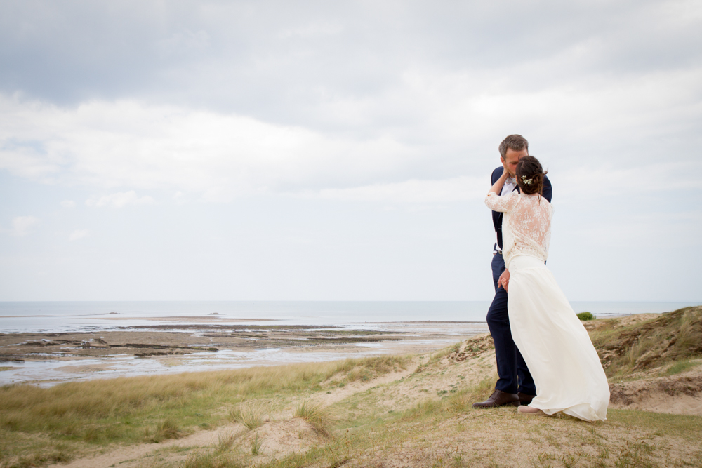 photographe mariage bohème normandie plage