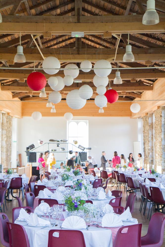 photographe mariage bohème normandie salle décoration