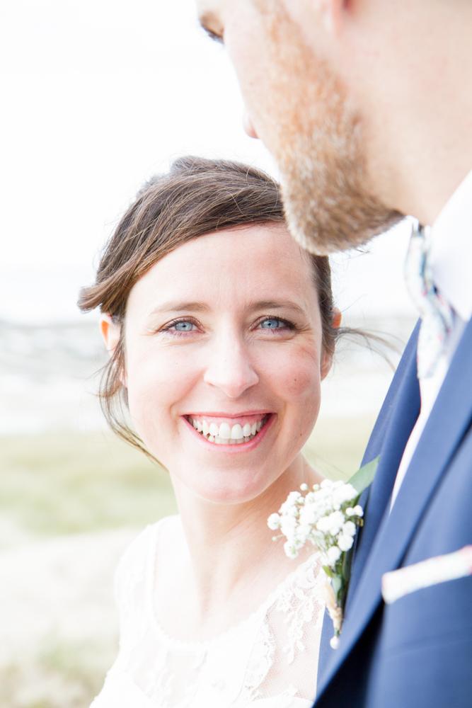 photographe mariage bohème normandie rire