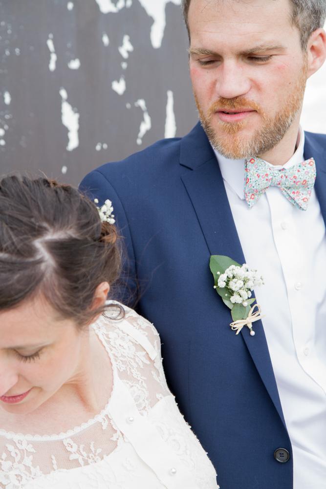 photographe mariage bohème normandie portrait
