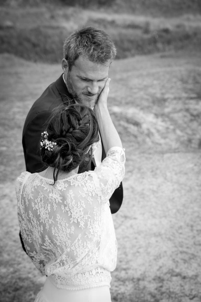 photographe mariage bohème normandie tendresse