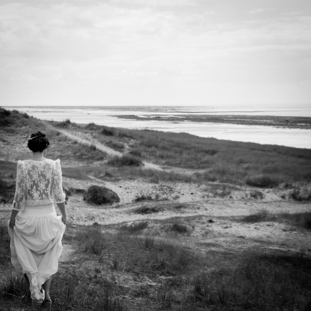 photographe mariage bohème normandie robe