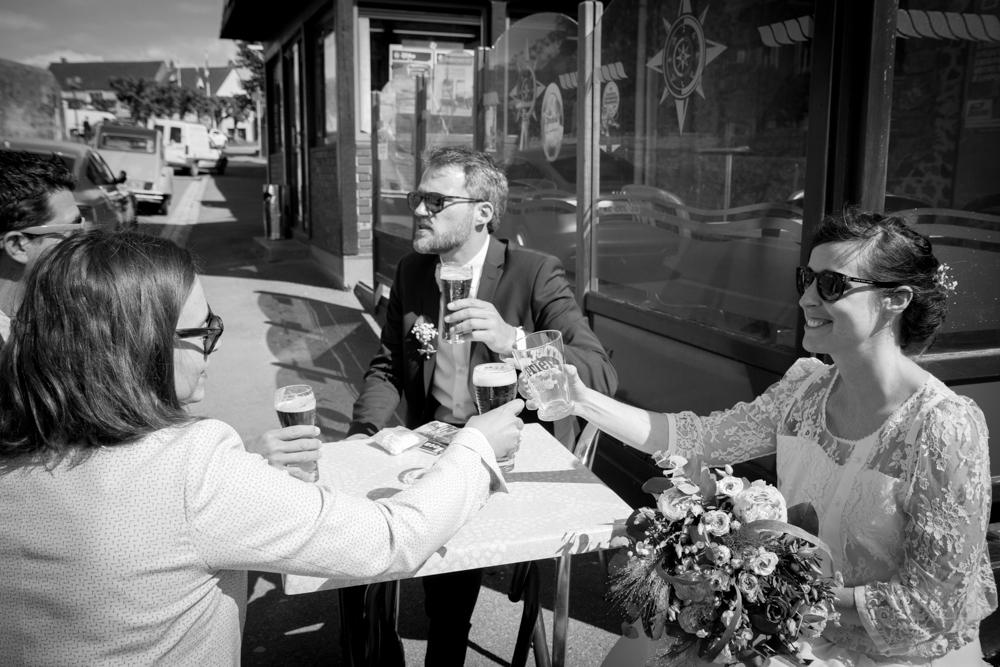 photographe mariage bohème normandie bar