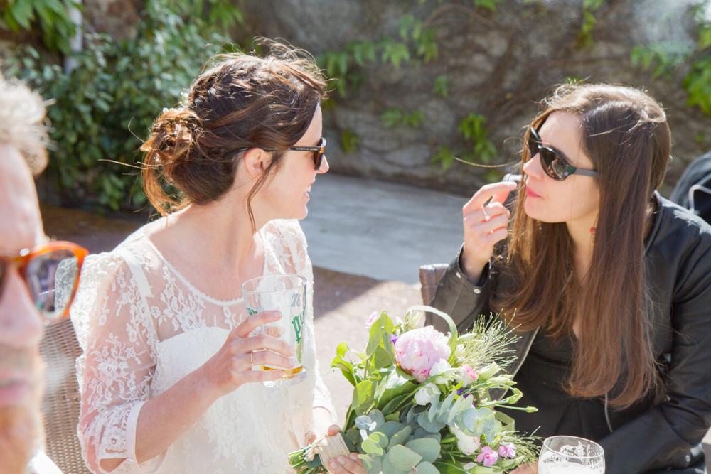 photographe mariage bohème normandie gouville sur mer