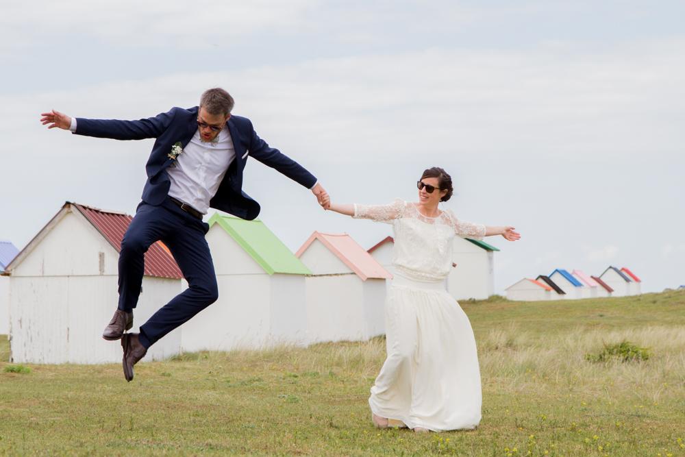photographe mariage bohème normandie saut