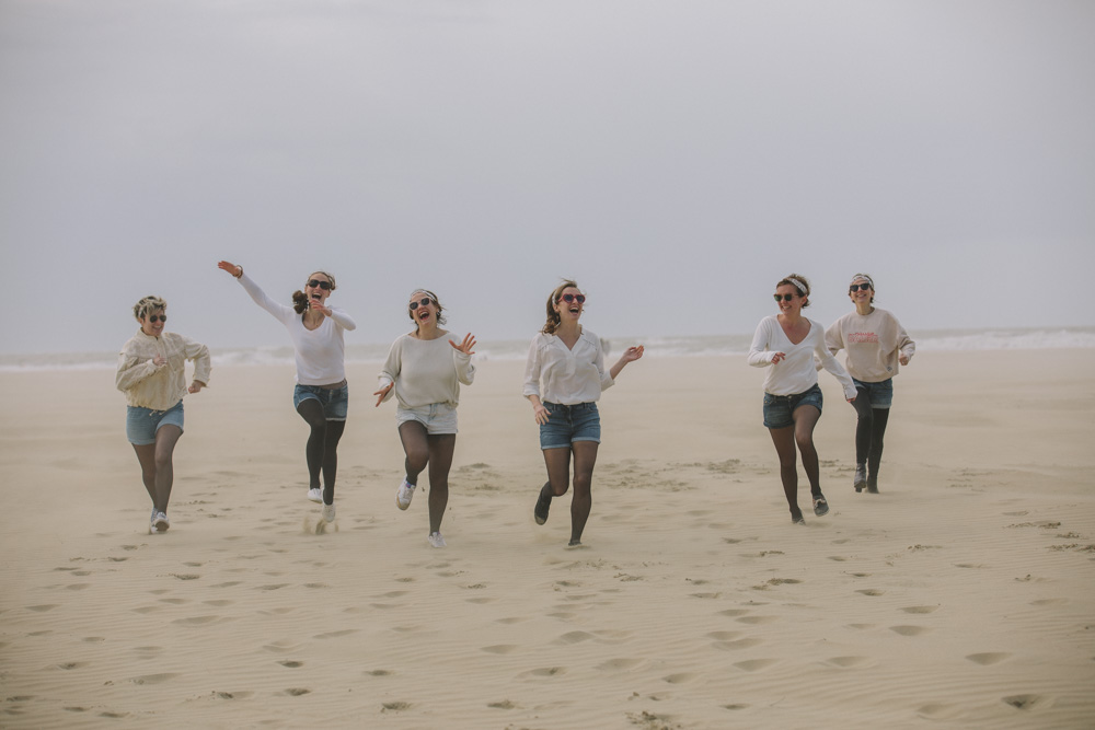 photographe evjf deauville normandie plage