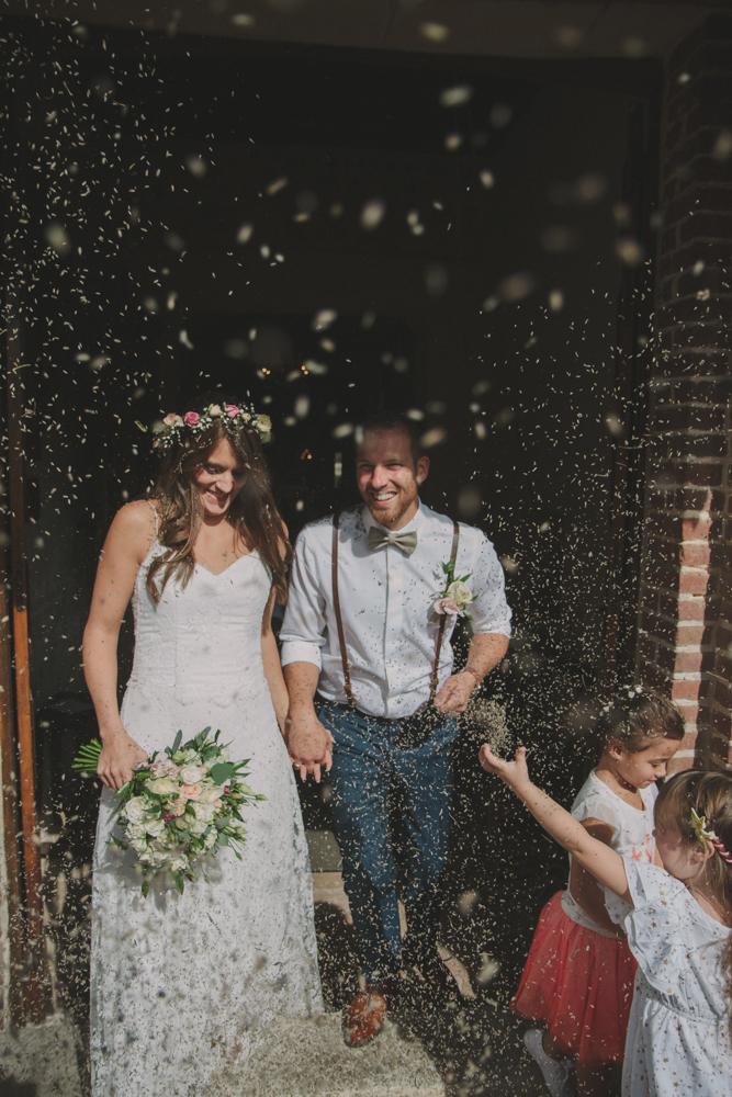 photographe mariage pont audemer cérémonie lavande