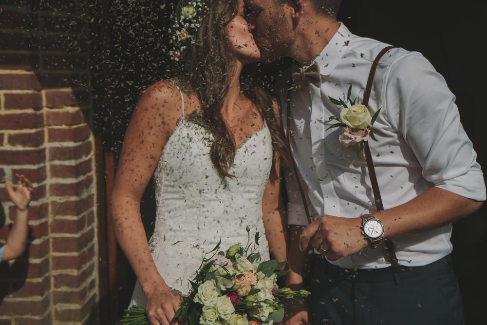 photographe mariage pont audemer cérémonie sortie