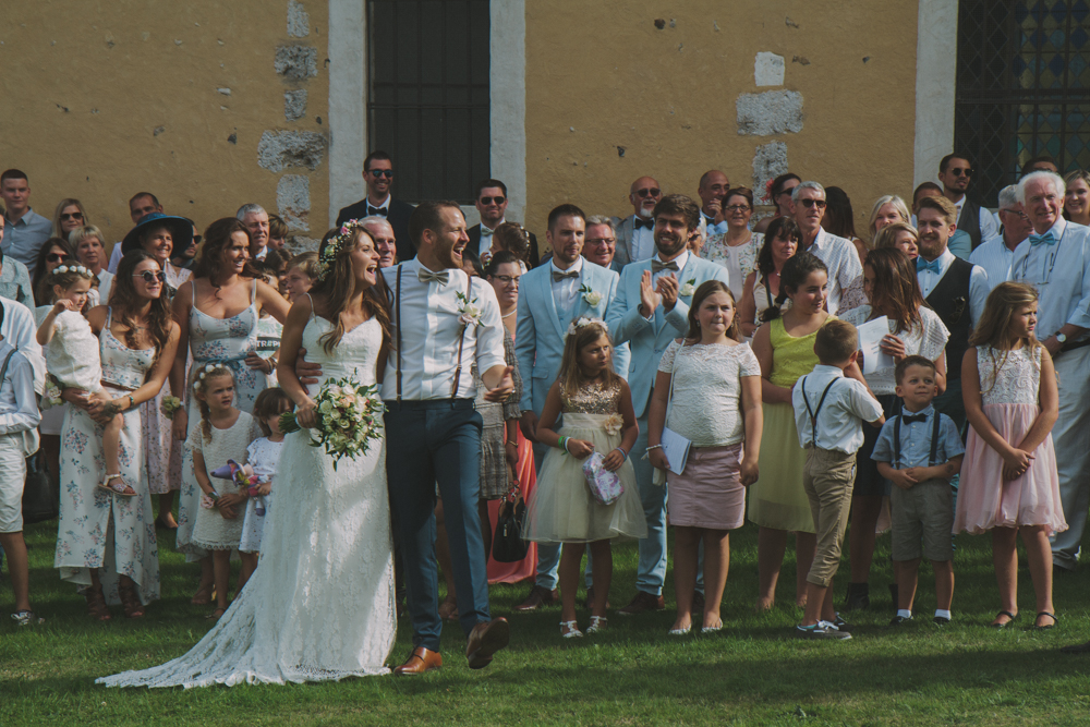 photographe mariage pont audemer cérémonie groupe