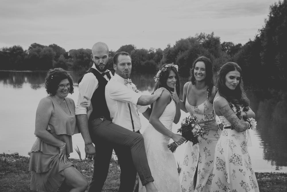 photographe mariage pont audemer groupe