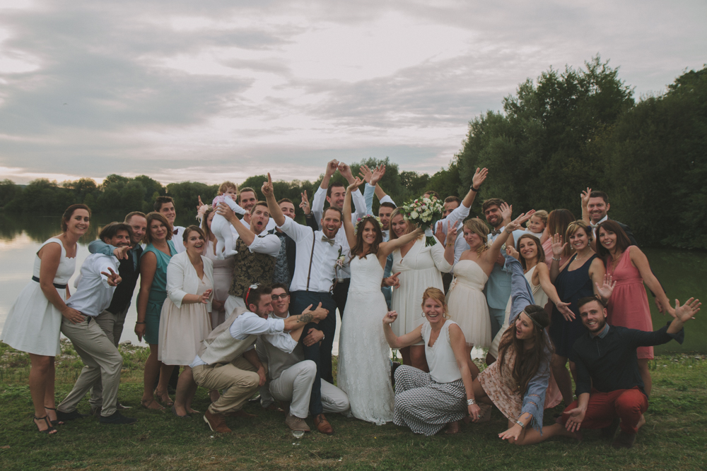 photographe mariage normandie pont audemer groupe