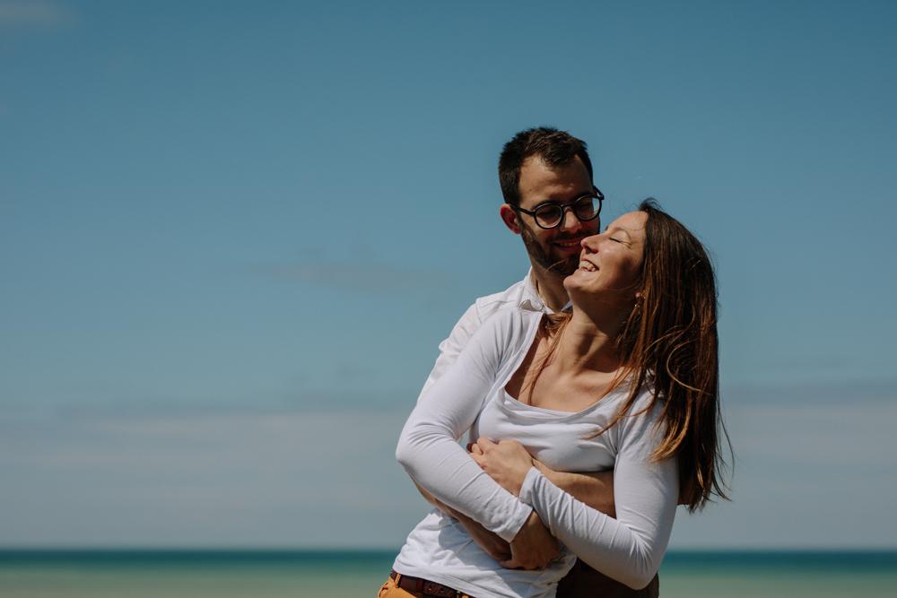 photographe mariage normandie séance engagement