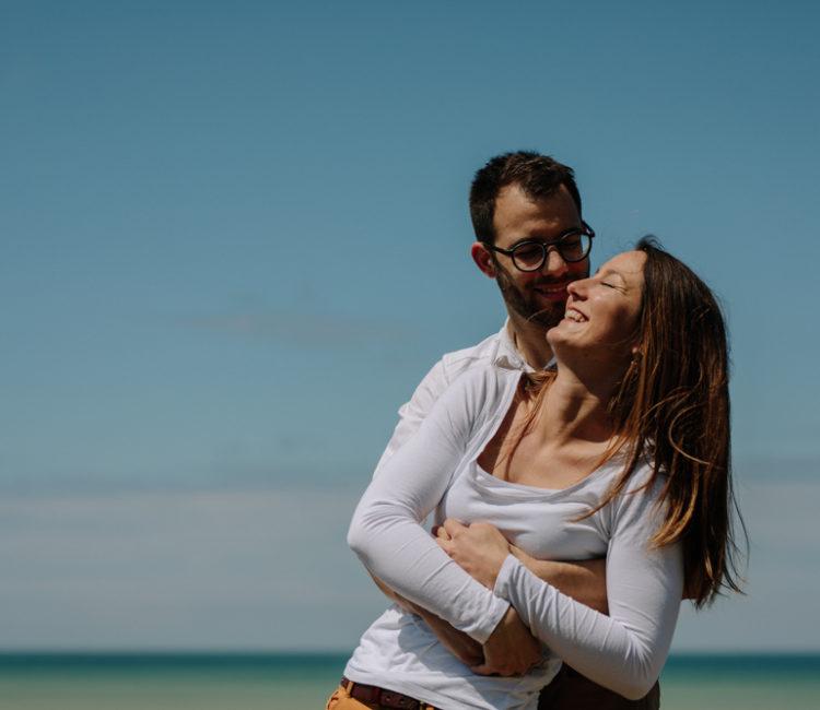 photographe de mariage en Normandie à Veules les roses