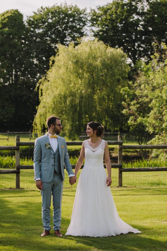 photographe de mariage en Normandie au domaine du Clos Normand
