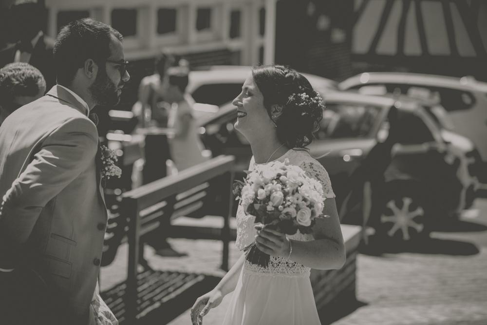 photographe de mariage Le Havre La rencontre