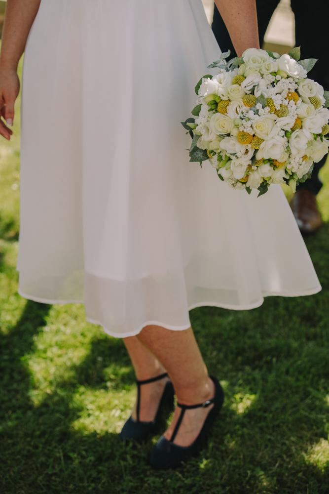 photographe de mariage en Normandie Le Havre bouquet de fleurs