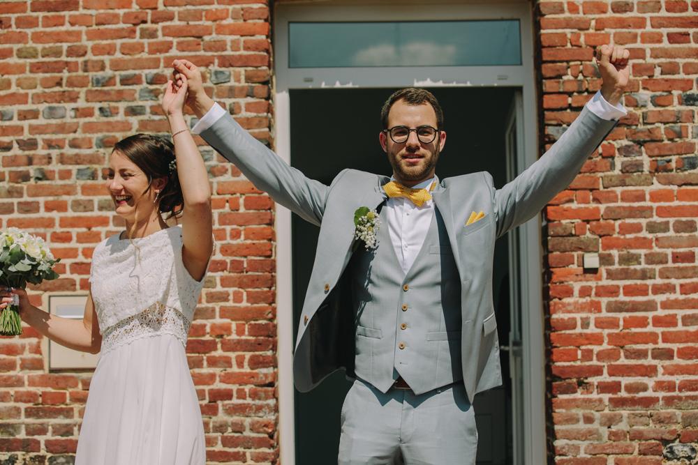 photographe de mariage en Normandie Le Havre la mairie