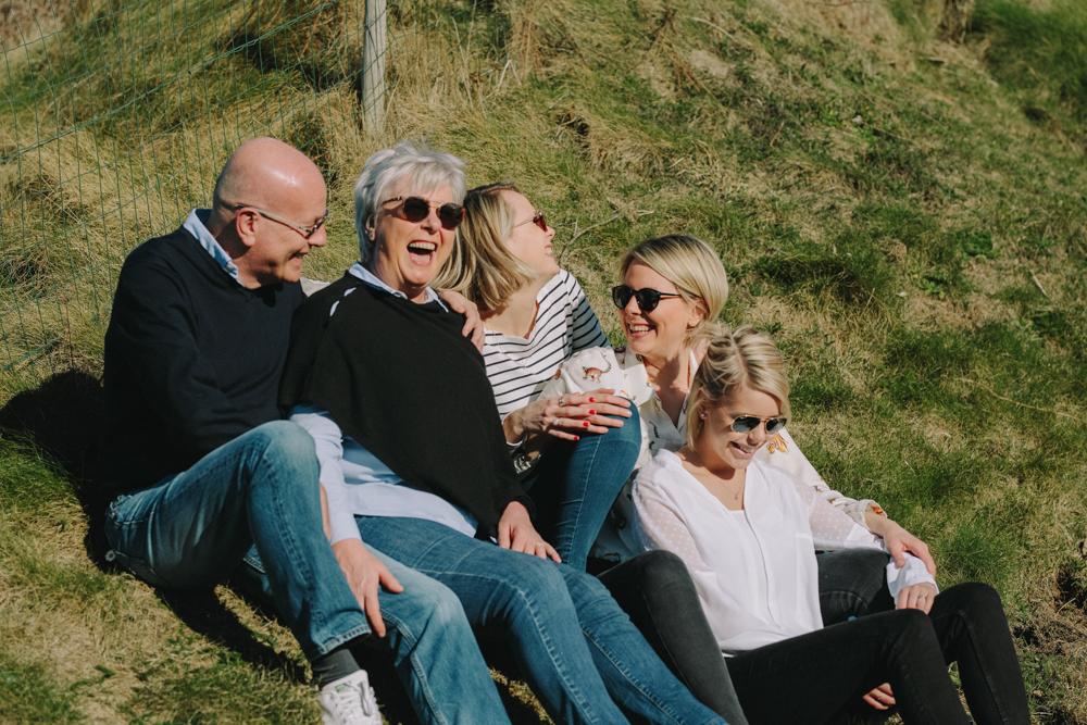 photographe de famille en Normandie plage saint pierre en port