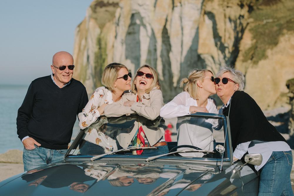 photographe de famille en Normandie Fécamp
