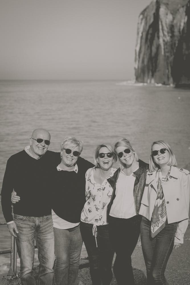 photographe de famille plage de saint pierre en port en Normandie