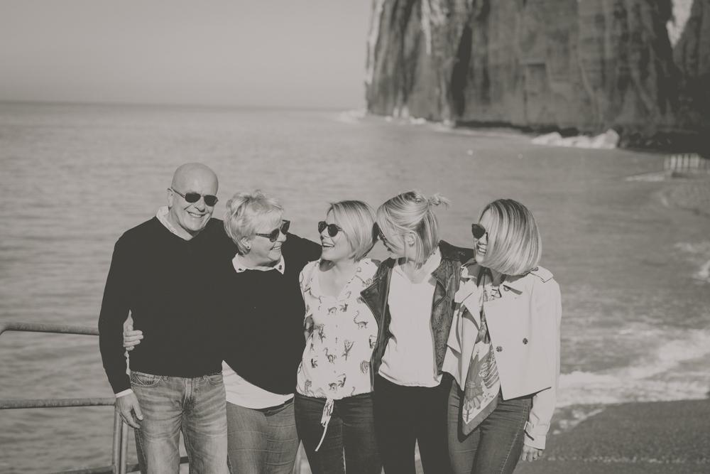 photographe de famille plage saint pierre en port en Normandie