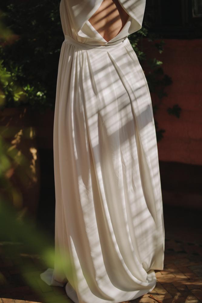 photographe de mariage à le havre en Normandie robe mélodie boitard