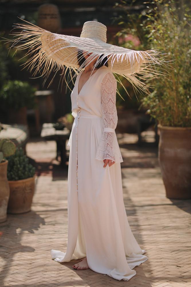 photographe de mariage à le havre en Normandie la mariée au chapeau