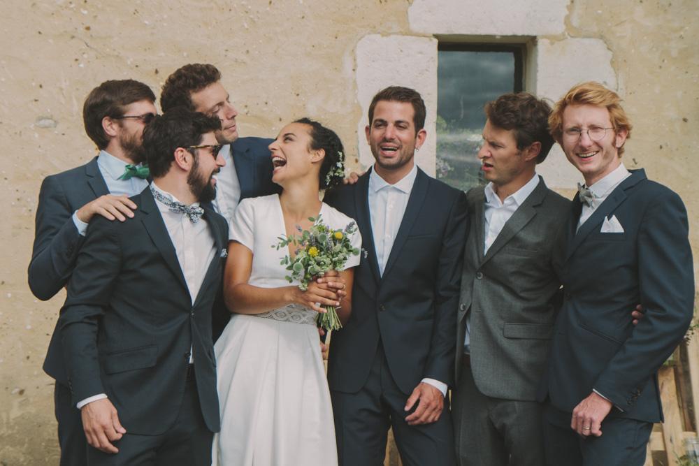 photographe de mariage en Normandie groupe