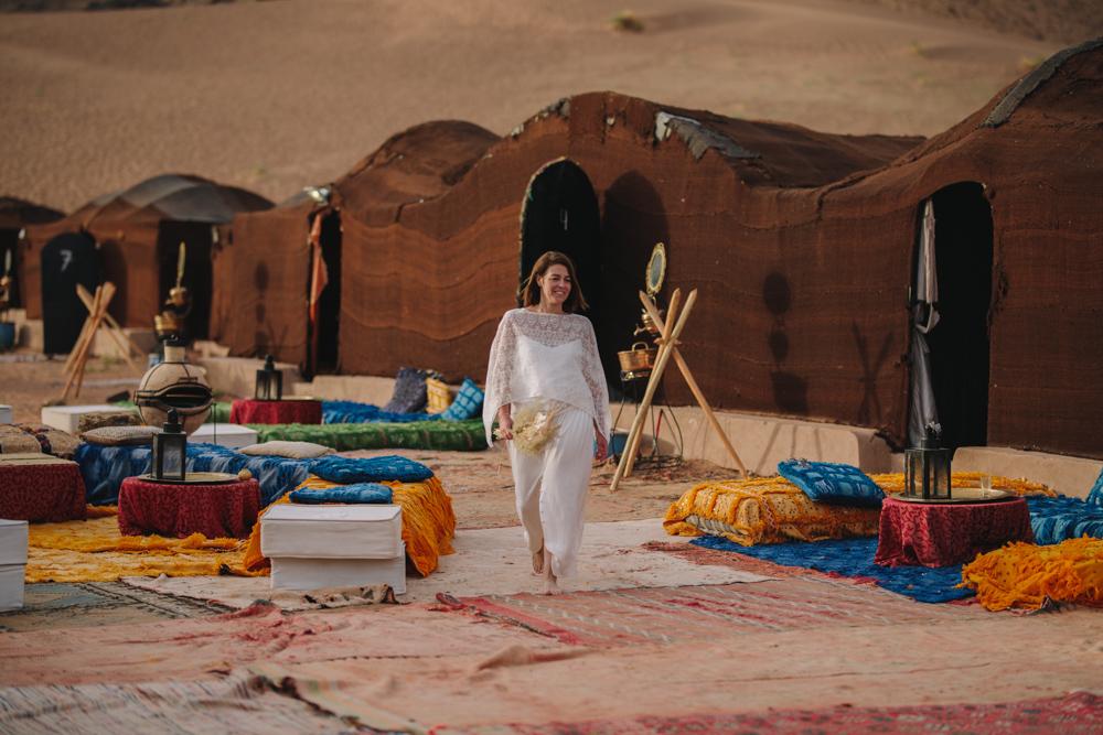 photographe de mariage dans le désert marocain