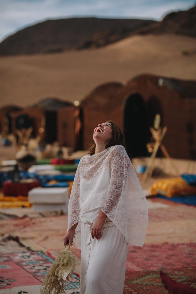 photographe de mariage dans le désert au maroc zagora