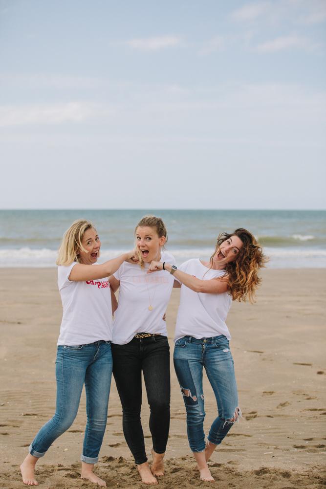 photographe de mariage à Deauville en Normandie Marion et ses copines