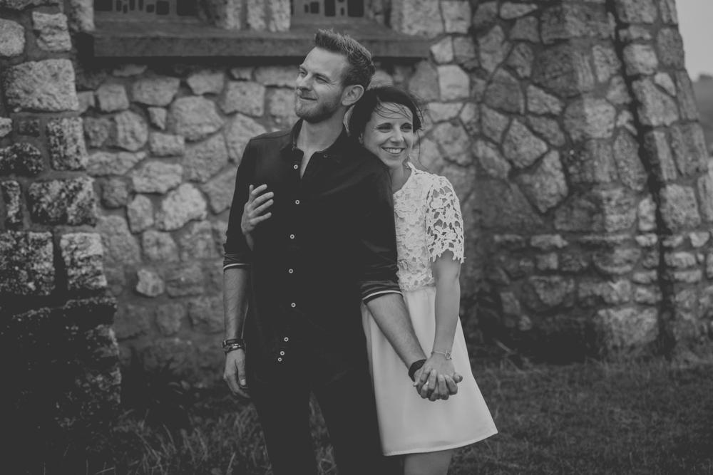 photographe de mariage à Etretat en Normandie chapelle