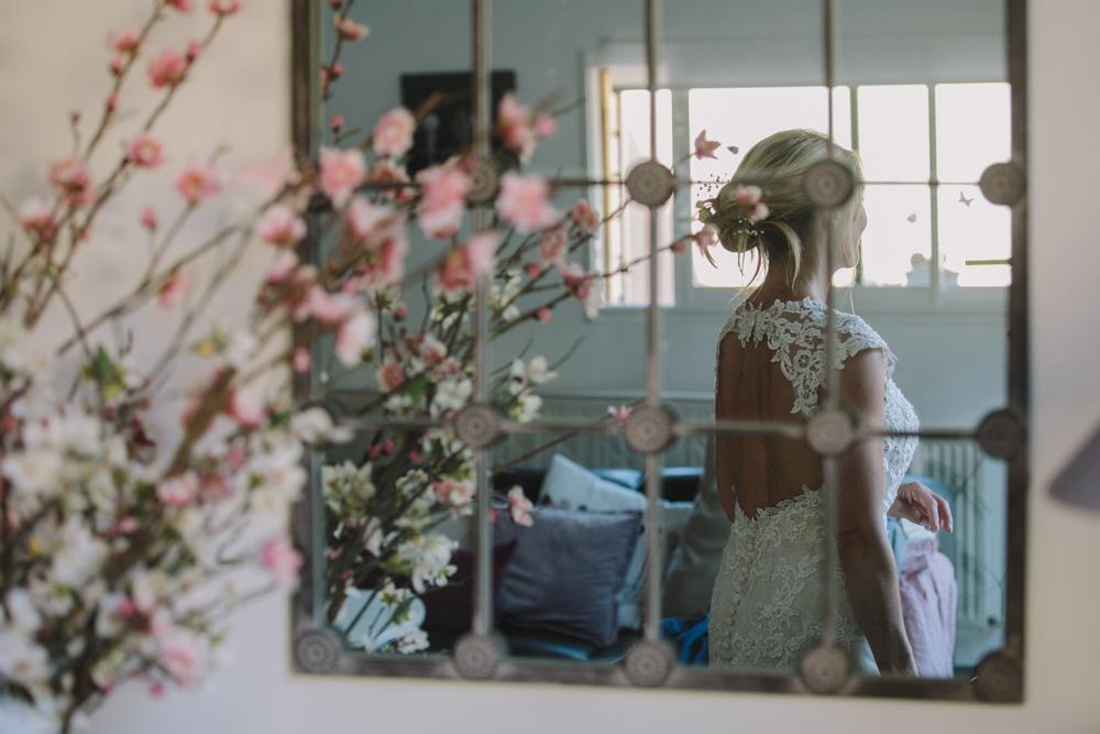 photographe de mariage à Honfleur en Normandie reflet