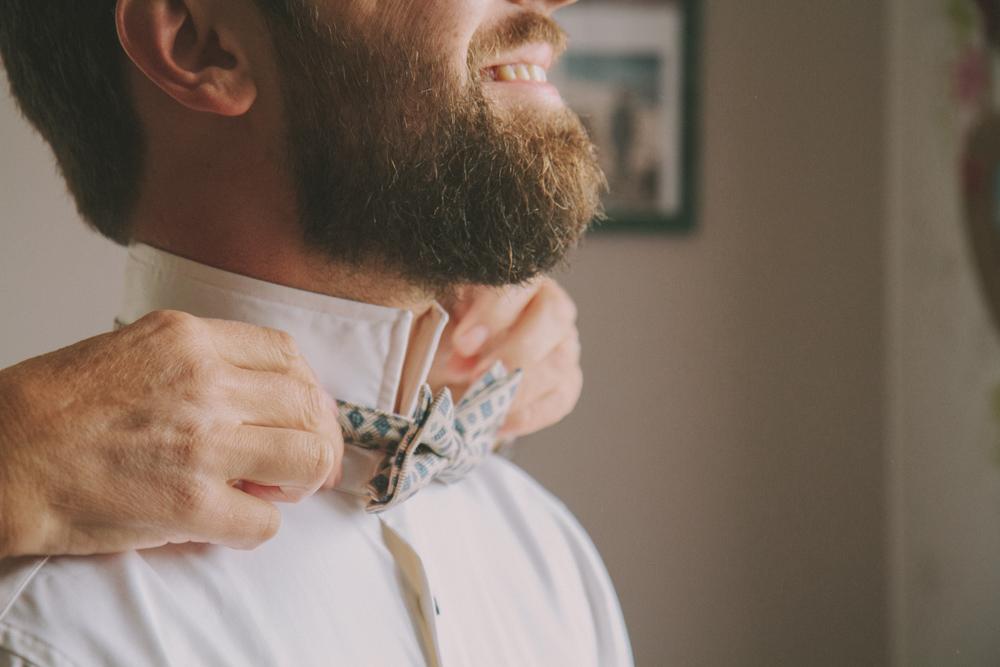 photographe de mariage a le havre en normandie noeud papillon