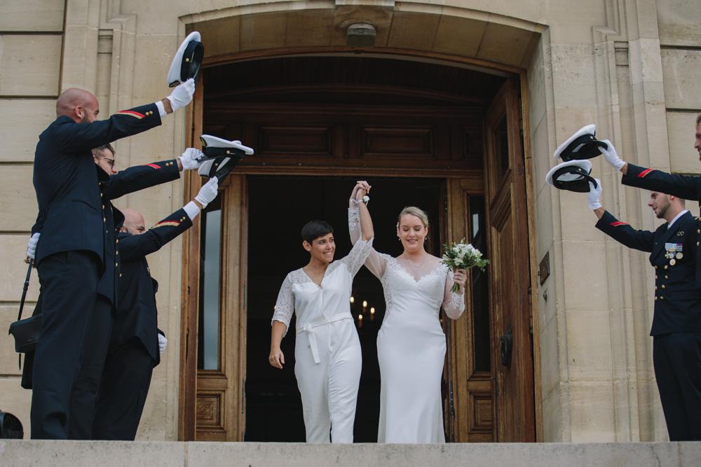 photographe de mariage a Evreux en Normandie mairie